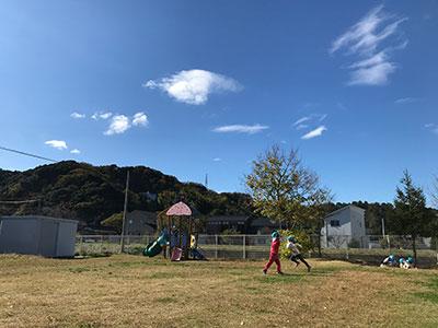 木崎保育園 園庭 写真