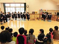 木崎保育園 1年生との交流 写真