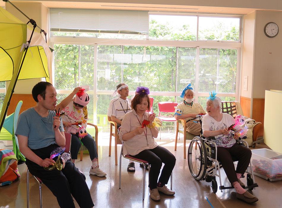 敦賀市立やまびこ園 サロン活動 写真