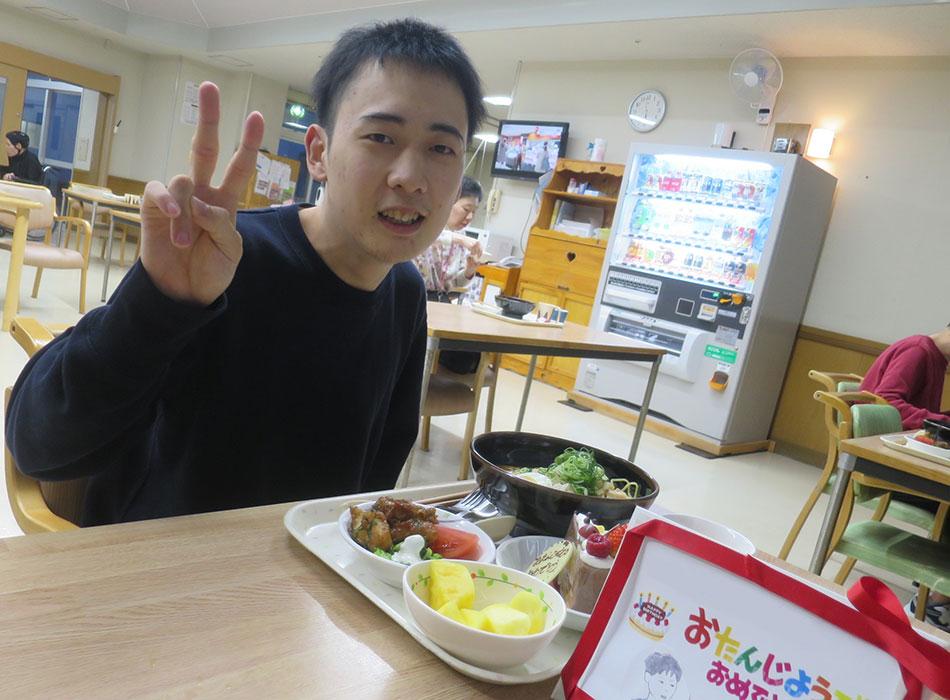 敦賀市立やまびこ園 食事 写真