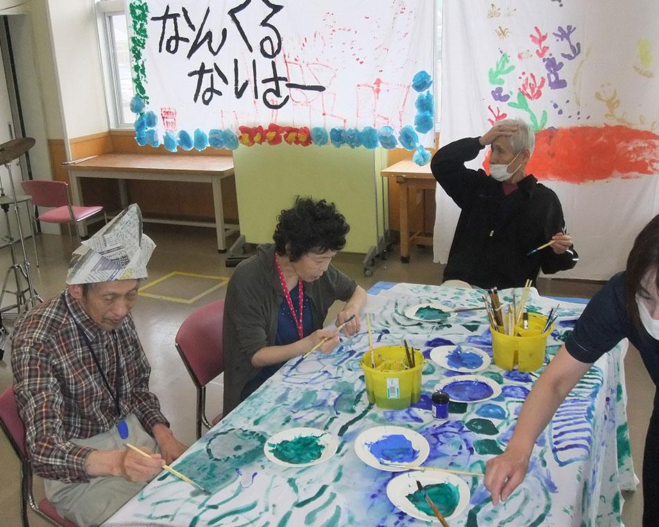 敦賀市立やまびこ園 創作活動 写真
